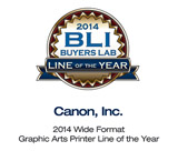 2014 Wide Format Graphic Arts Printer Line of the Year