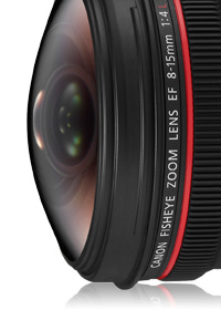 EF 8-15mm f4L Fisheye USM